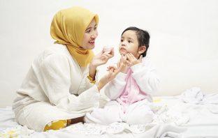Founder daily skincare Beeme, Sheyla Taradia Habib (28) dan Anak