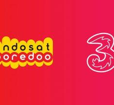 Saham Indosat Melorot Sehari Pasca-Pengumuman Merger dengan Tri